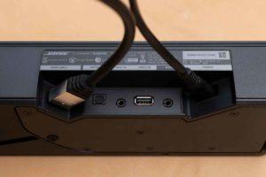 Bose TV Speaker の配線イメージ