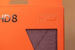 Fire HD 8 第10世代 純正カバー パッケージ