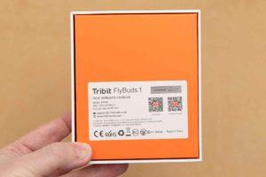 「Tribit Flybuds 1」外箱裏