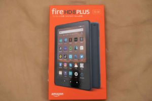 「Fire HD 8 Plus」外箱