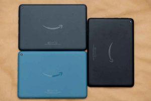 「Fire HD 8 Plus」タブレット本体色比較