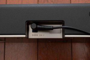 ソニー HD-X8500 ACアダプター接続
