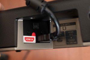 ソニー HD-X8500 端子入力にHDMケーブル