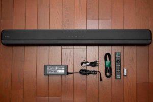 ソニー HD-X8500 本体と付属品