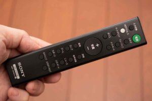 ソニー HD-X8500 付属リモコン