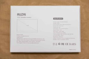 AUZAI ME16 のパッケージ(裏)
