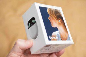 Google Pixel Buds 外箱