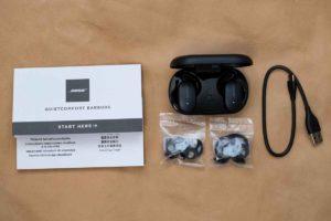 Bose QuietComfort Earbuds セット内容