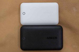 「Anker PowerPort Atom III Slim」比較。