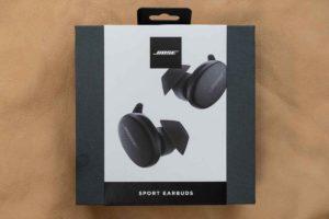 Bose Sport Earbuds パッケージ