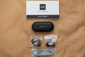 Bose Sport Earbuds セット内容