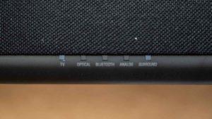 ヤマハSR-C20AのLED表示