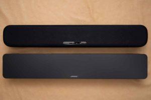 ヤマハSR-C20AとボーズTVスピーカーとの比較