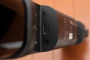 「Creative Stage V2」HDMI、アナログの入力