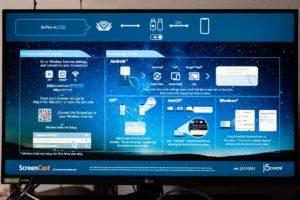 JVAW56スクリーンキャストのナビゲーション画面