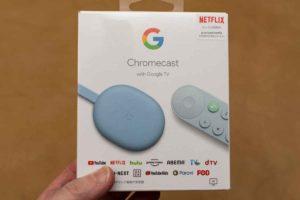 Chromecast with Google TV バッケージ