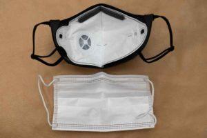 ブリーズマスクと一般の不織布マスクのサイズ比較