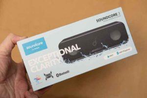 Soundcore 3の外箱