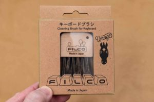 FILCO FUB30 キーボードブラシのパッケージ(表)