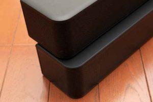 Bose Solo Soundbar Series II とSolo5との比較デザインディテールが異なる