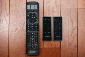 Bose Solo Soundbar Series II リモコン比較