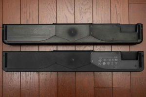 Bose Solo Soundbar Series II 底面。Solo5との比較