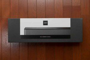 Bose Solo Soundbar Series II パッケージ