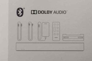 Bose Solo Soundbar Series II パッケージセット内容