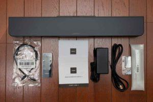 Bose Solo Soundbar Series II セット内容