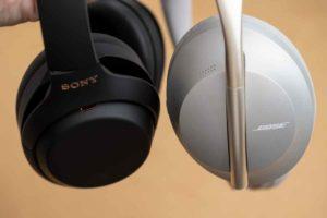 ソニー「WH-1000XM4」とボーズNCHP700比較