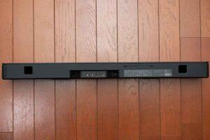Bose smart Soundbar 300 の外観