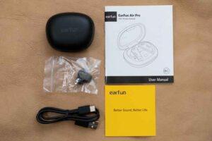 EarFun Air Pro のセット内容