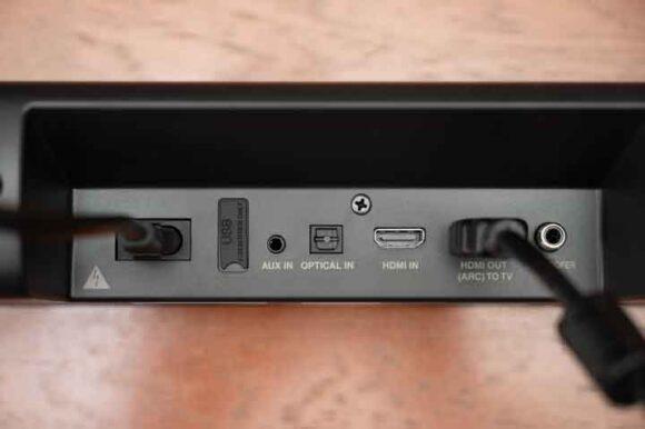 DHT-S216のケーブル接続例