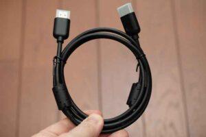 Jbl Bar 5.0 MultiBeam の付属HDMIケーブル