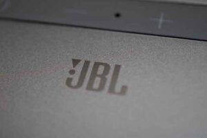 Jbl Bar 5.0 MultiBeam のJBLロゴ