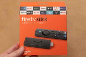 Alexa対応音声認識リモコン(第3世代)付きの第3世代Fire TV Stickのパッケージ