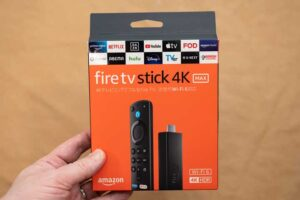 Fire TV Stick 4K MAX のパッケージ