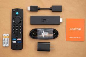 Fire TV Stick 4K MAX のセット内容