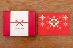 還暦祝ギフト券ボックスタイプと封筒タイプ