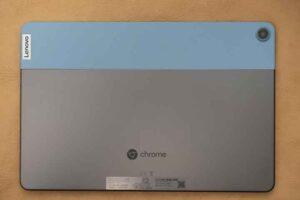 Lenovo IdeaPad Duet Chromebook 本体背面