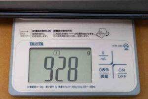 Lenovo IdeaPad Duet Chromebook本体カバーキーボードを含めた重量