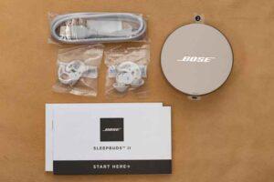 Bose Sleepbuds II のセット内容