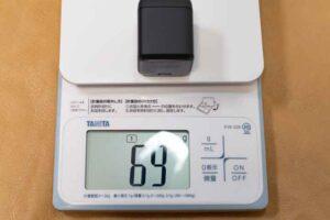「Anker Nano ll 45W」の重量