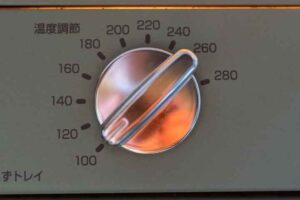 CAT-GS13B(G)の温度調整つまみ