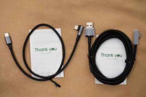 HHKB HYBRID 用に購入したUGREEN製ケーブル2種。
