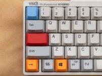 HHKT純正カラーキートップセットに換装