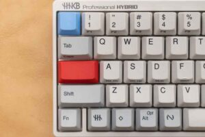 HHKB純正カラーキートップセットに換装