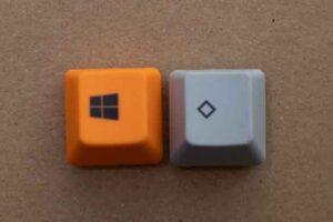 Realforce用のキーキャップとの比較