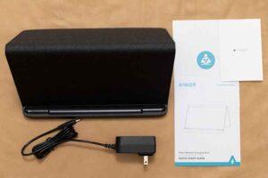 Fire HD 10 用ワイヤレス充電スタンドセット内容
