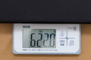 Fire HD 10 2021モデル 「キーボード付きカバー」の重量